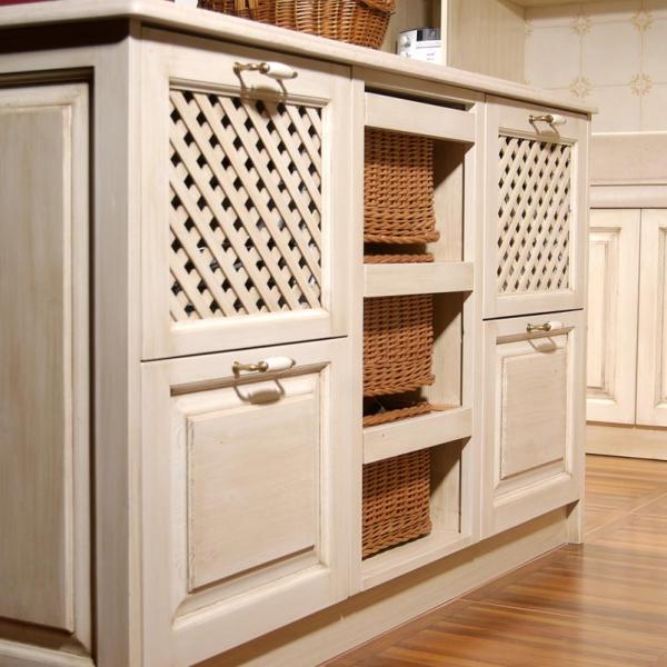 Kuhinjski polotok z uporabno notranjostjo