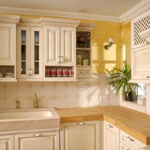 Zgornje kuhinjske omarice so različnih globin