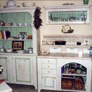 Kuhinja Shabby chic country