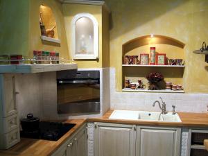 Niše v zidani kuhinji